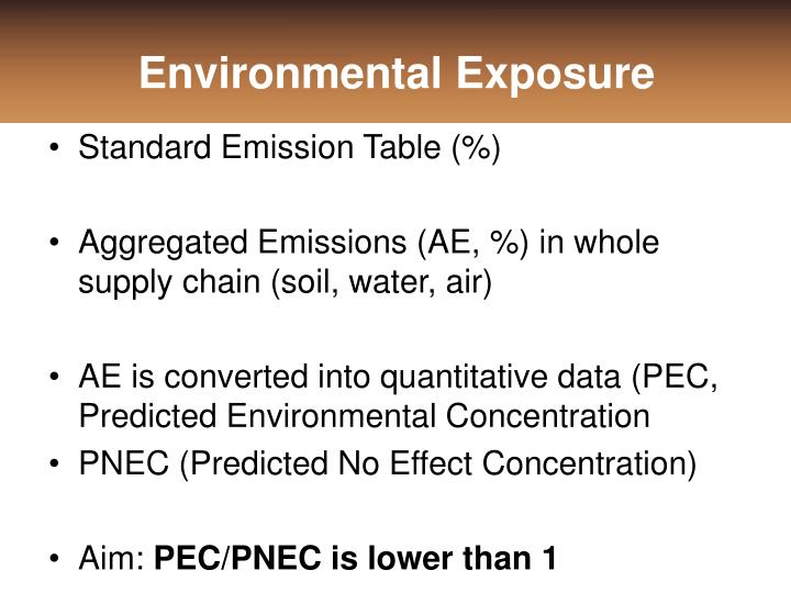 Environmental Exposure