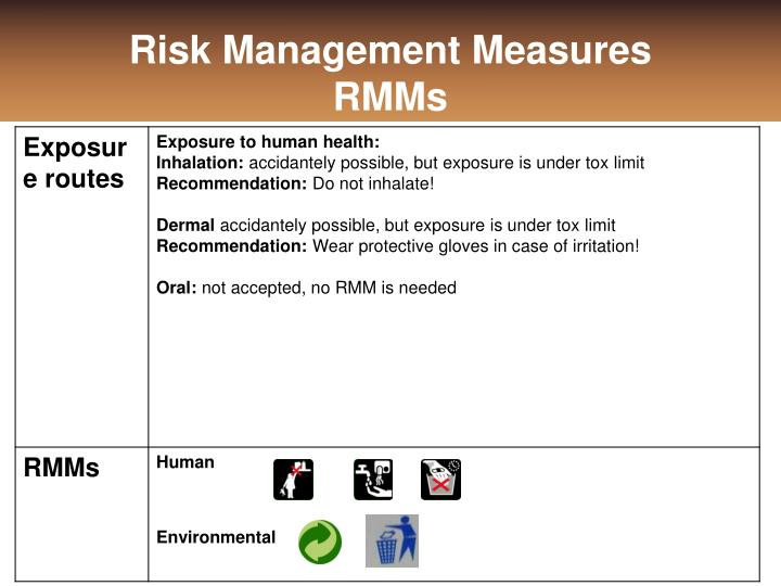Risk Management Measures