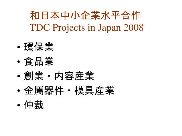 和日本中小企業水平合作