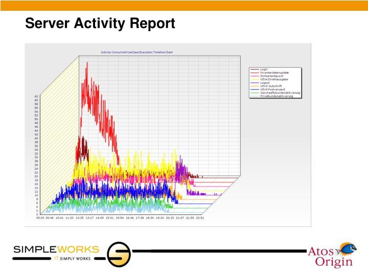 Server Activity Report
