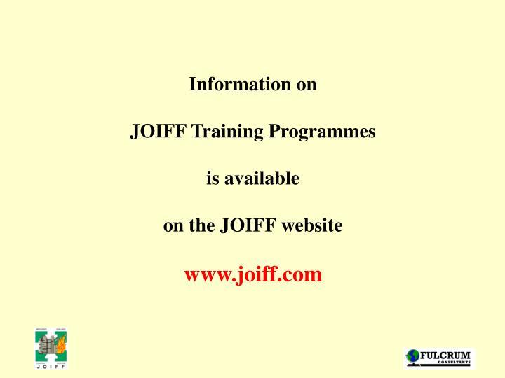 Information on