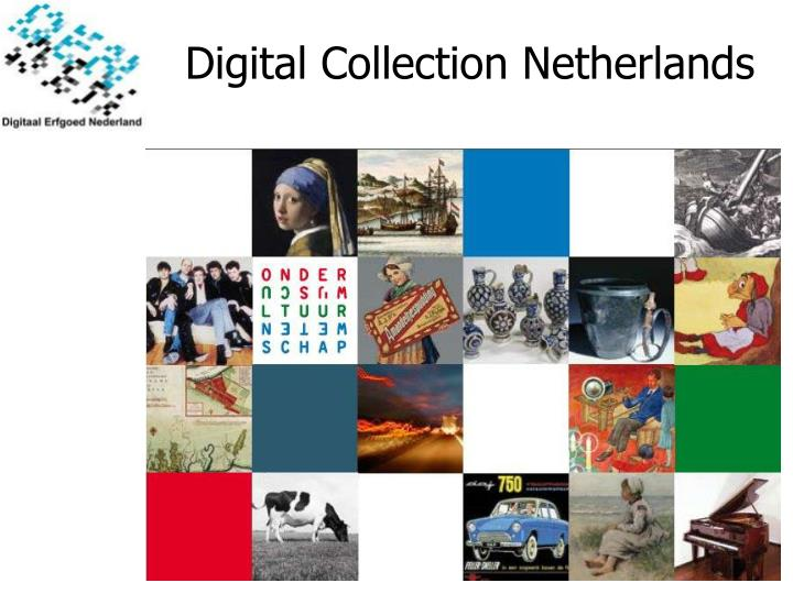 Digital Collection Netherlands