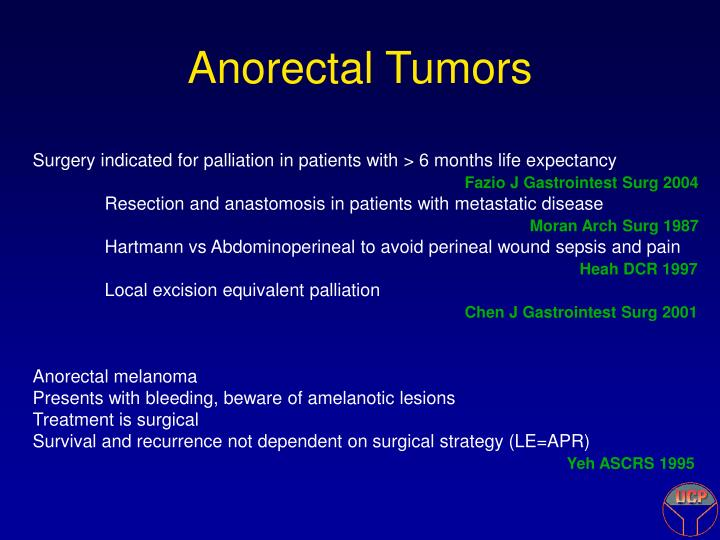 Anorectal Tumors