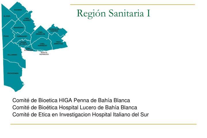 Región Sanitaria I