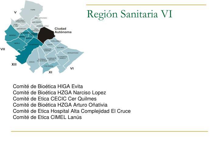 Región Sanitaria VI