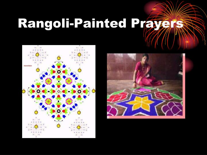 Rangoli-Painted Prayers