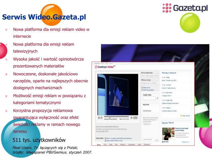 Serwis Wideo.Gazeta.pl