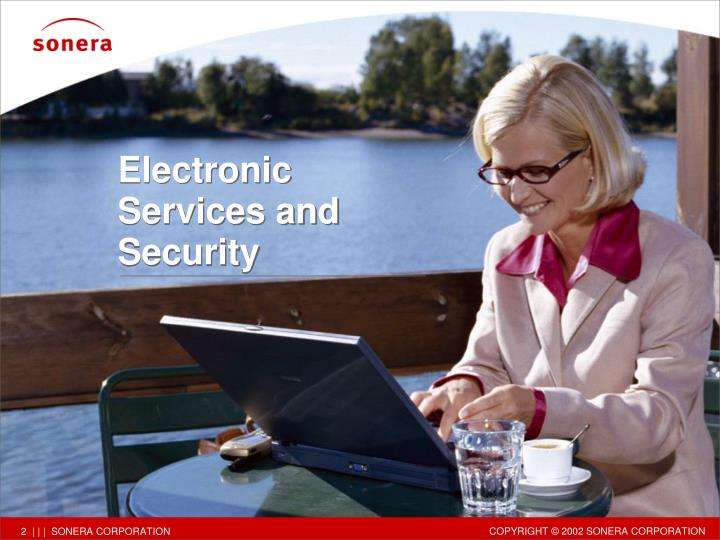 Electronic Services and Security
