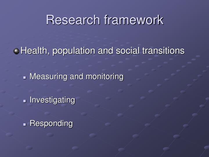 Research framework