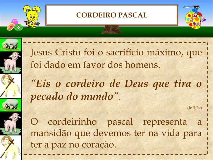 CORDEIRO PASCAL