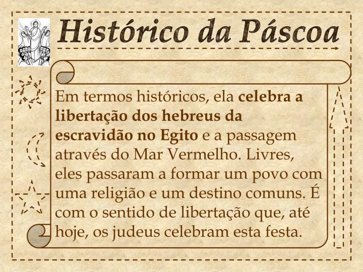 Histórico da Páscoa