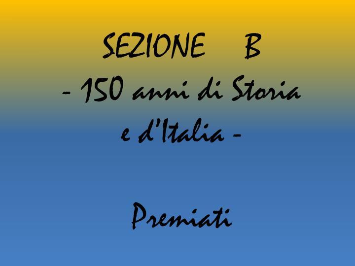 SEZIONE B
