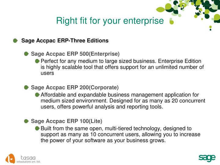 Right fit for your enterprise