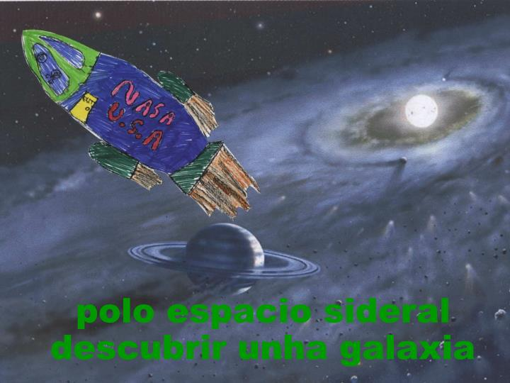 polo espacio sideral