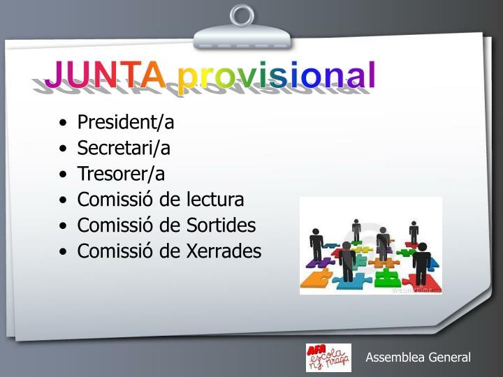 JUNTA provisional
