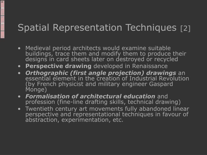 Spatial Representation Techniques