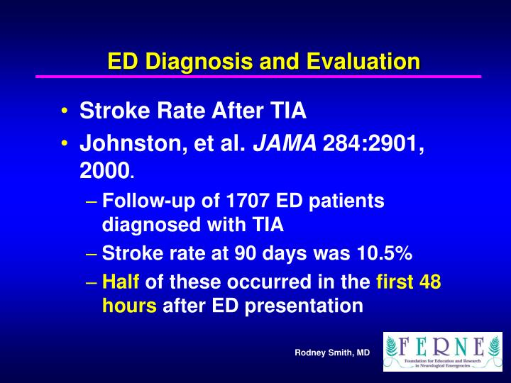 ED Diagnosis and Evaluation