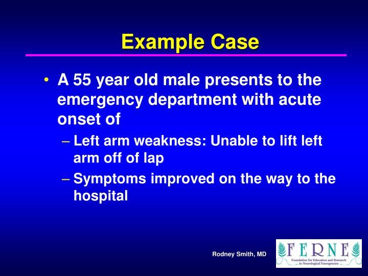 Example Case