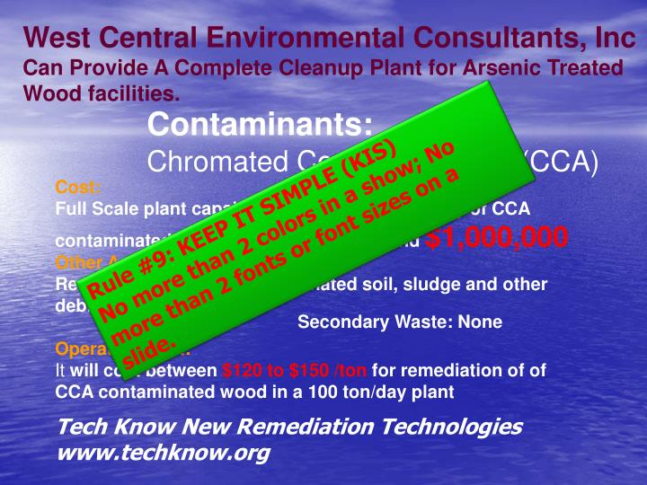 West Central Environmental Consultants, Inc