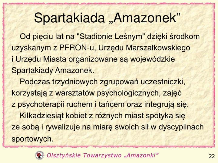 "Spartakiada ""Amazonek"""