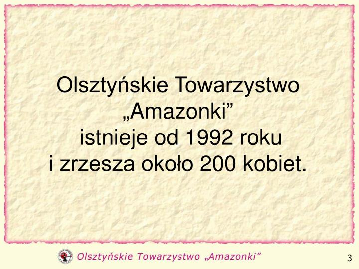 """Olsztyńskie Towarzystwo """"Amazonki"""""""