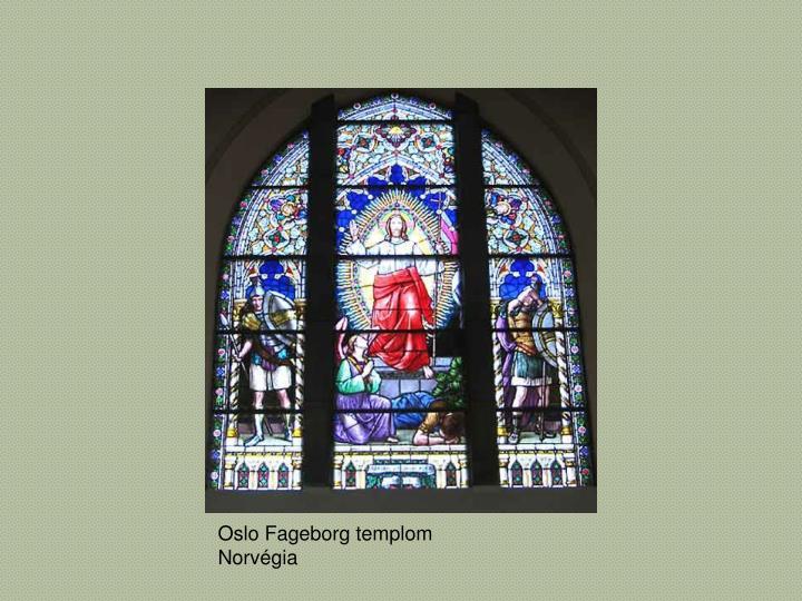 Oslo Fageborg templom