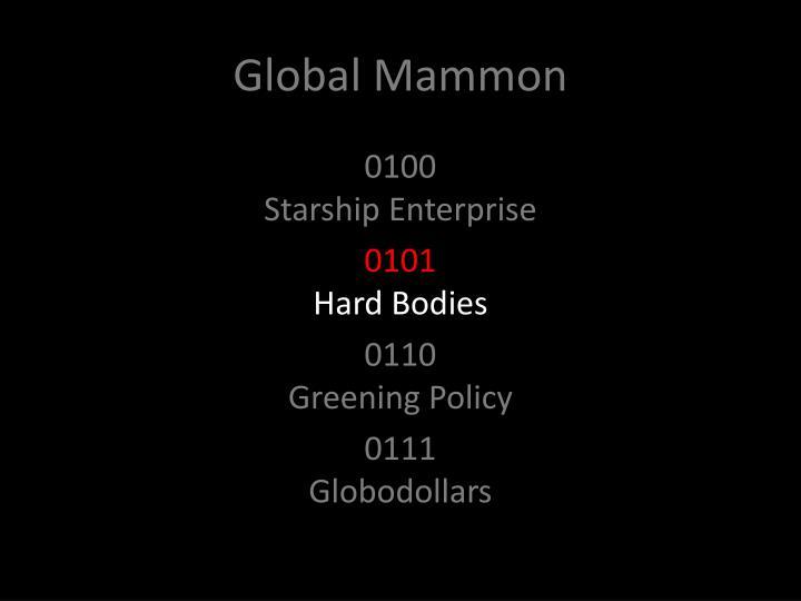 Global Mammon