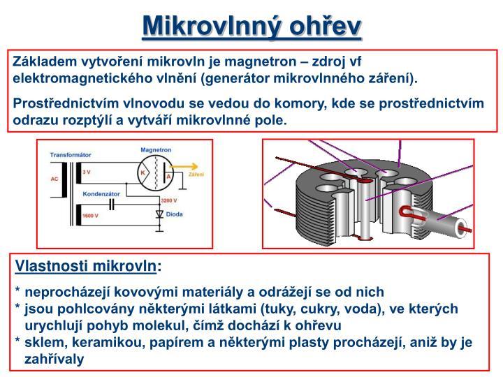 Mikrovlnný ohřev