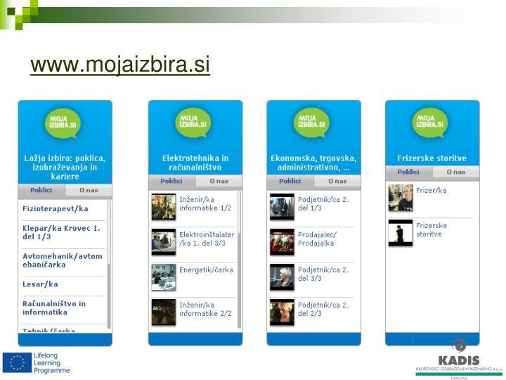 www.mojaizbira.si