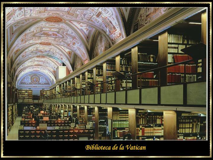 Biblioteca de la Vatican
