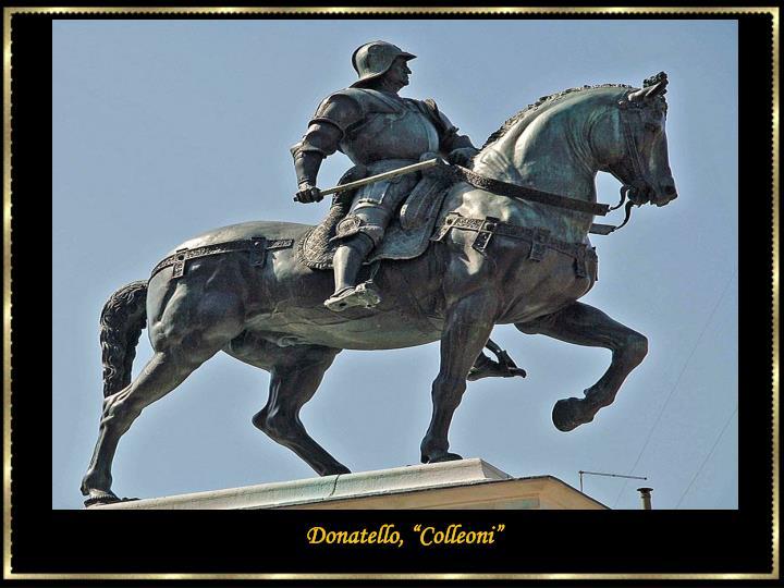 """Donatello, """"Colleoni"""""""