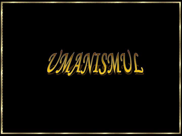 UMANISMUL