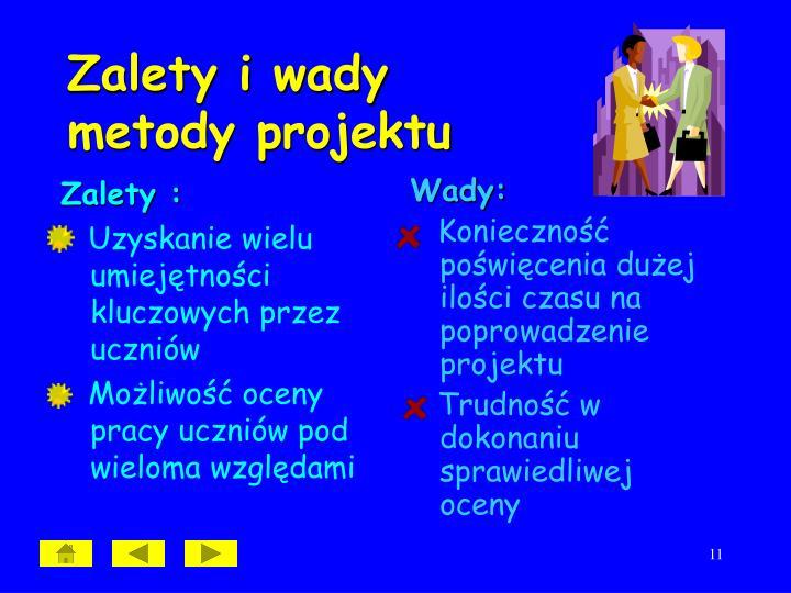 Zalety :