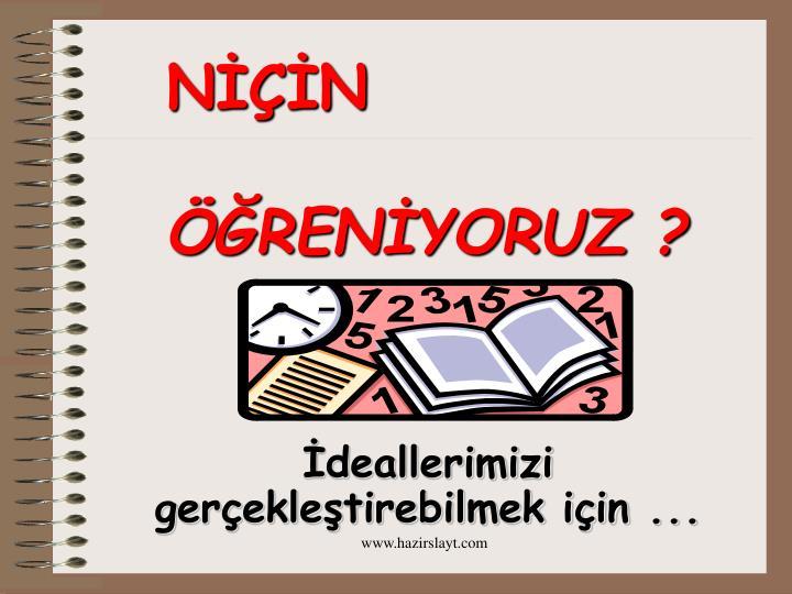 NİÇİN