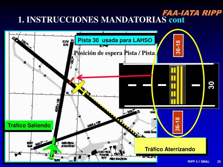 1. INSTRUCCIONES MANDATORIAS