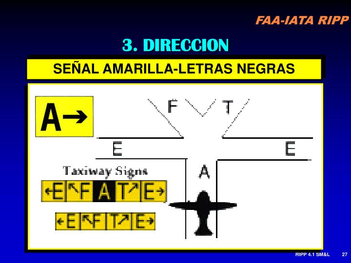 3. DIRECCION