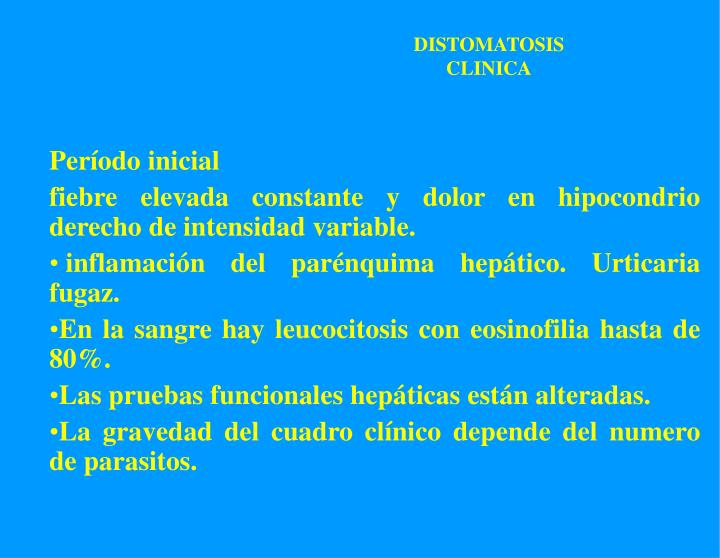 DISTOMATOSIS