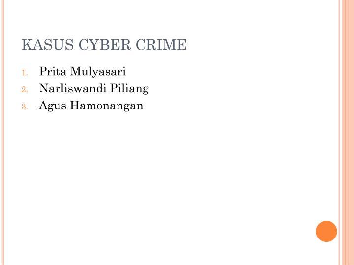 KASUS CYBER CRIME