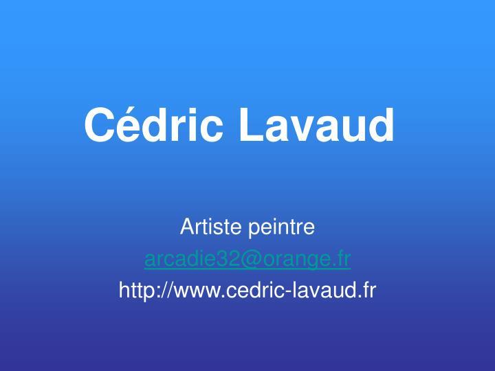 Cédric Lavaud