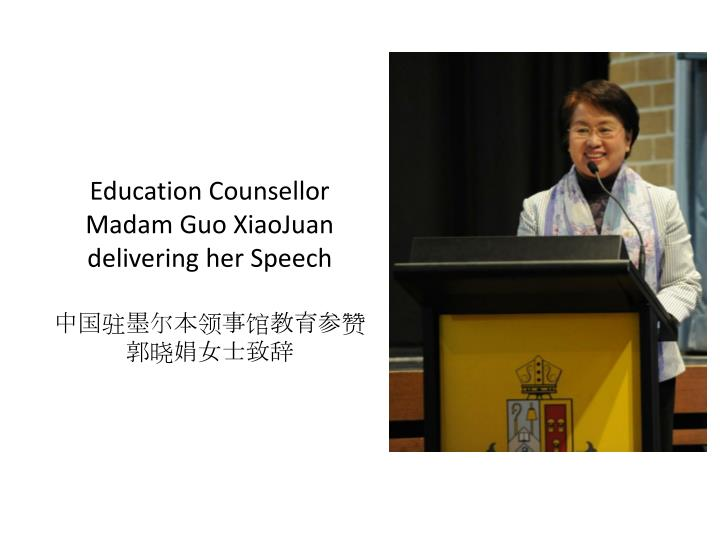 Education Counsellor Madam