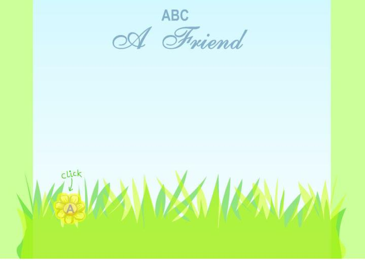 Abc of friendship