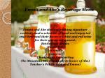 emma and abe s beverage menu