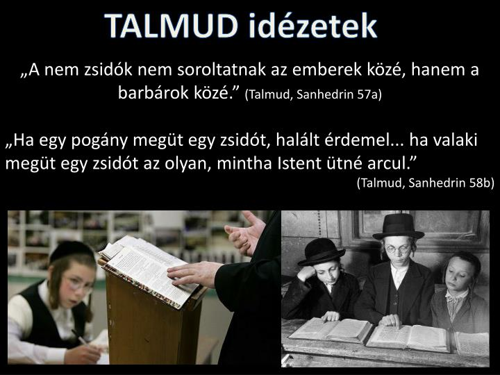 TALMUD idézetek