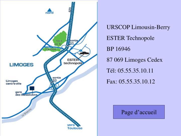 URSCOP Limousin-Berry