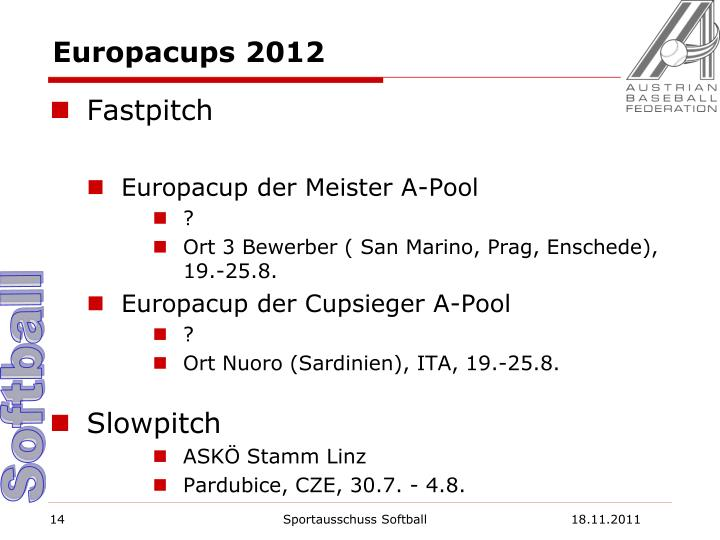 Europacups 2012