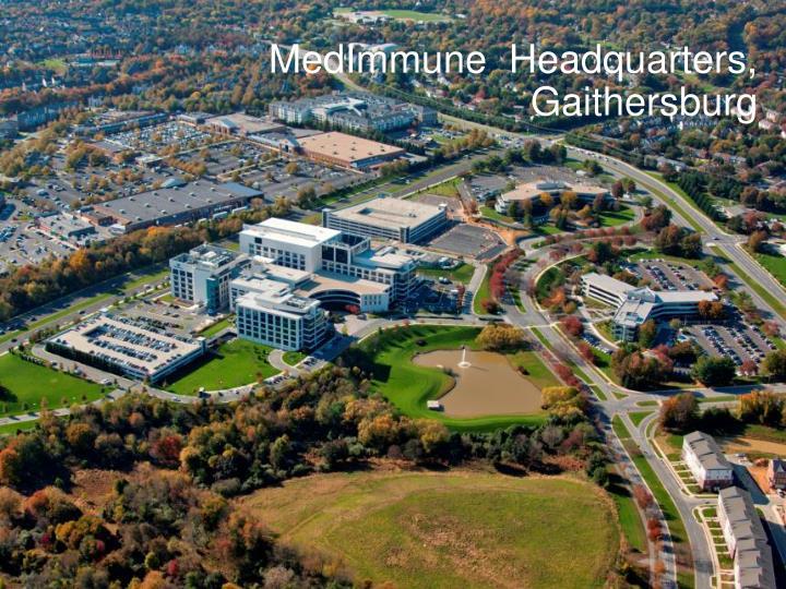 MedImmune  Headquarters, Gaithersburg