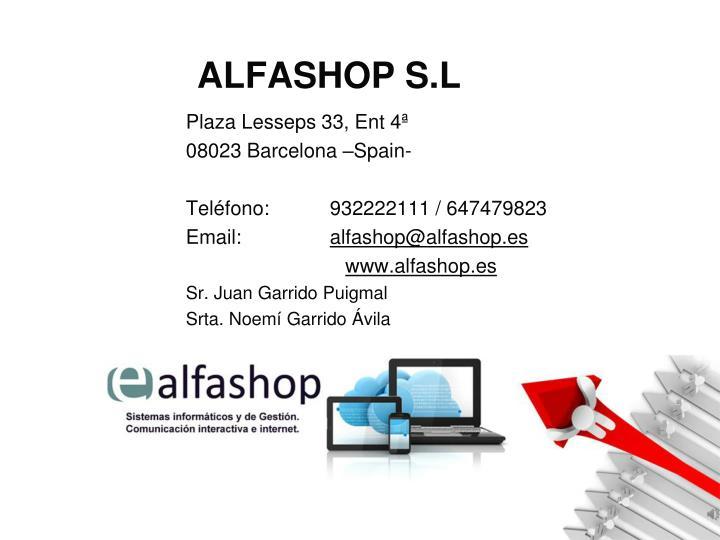 ALFASHOP S.L