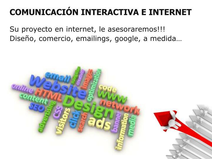 COMUNICACIÓN INTERACTIVA E INTERNET