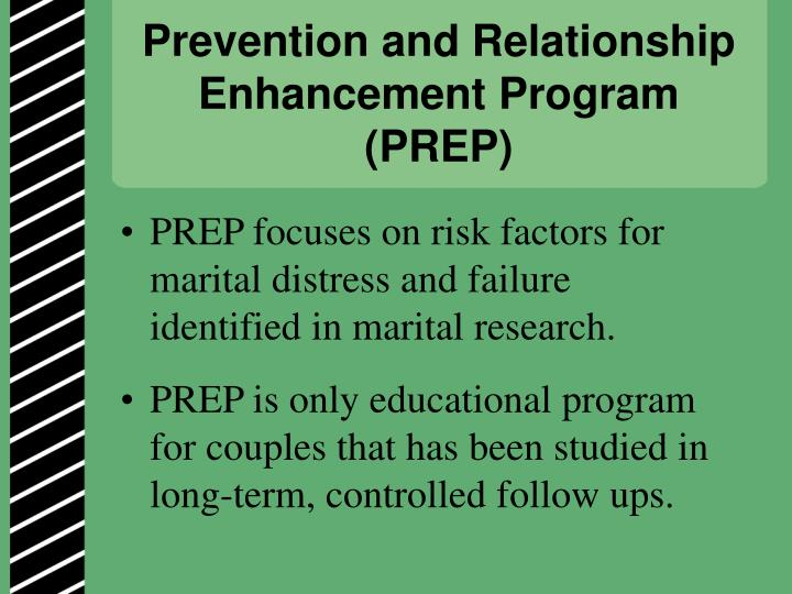 Prevention and Relationship Enhancement Program