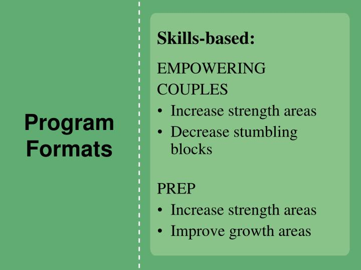 Skills-based: